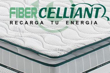 Colchón visco elástico Fiber Celliant