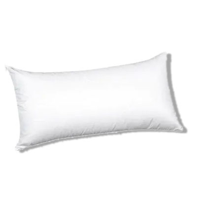 Almohada de ficha con núcleo de poliéster