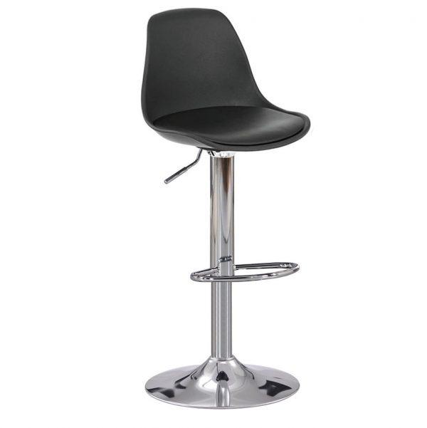 Taburete alto moderno ideal para comedor cafeterías, bares y cocinas